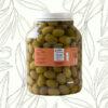 Aceitunas verdes variedad arauco 2 kilos (Caja de 4 unidades)