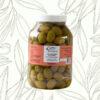 Aceitunas verdes en salmuera 1 kilo (Caja de 6 unidades)